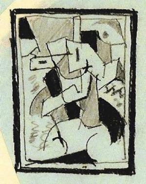 Andre Breton, Surrealist Landscape,1950.