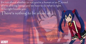 Grown Up Wendy Fairy Tail Wendy's quote~fairy tail by