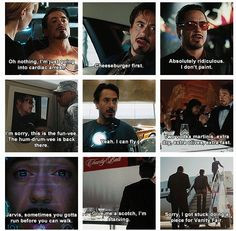 Tony Stark is....Iron Man