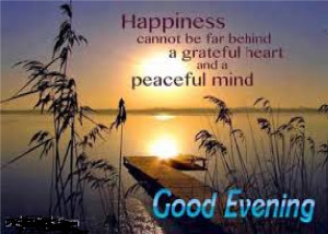 Good Evening Quotes For Anyone