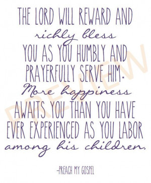 Missionaries Quotes, Lds Quotes Missionary, Lds Quotes On Prayer, Lds ...
