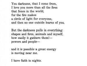 Rainer Maria Rilke, Selected