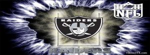 Oakland Raiders Football Nfl 13 Facebook Cover
