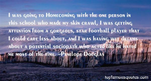 Top Quotes About Homecoming Football