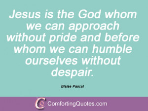 Blaise Pascal Quotes On God