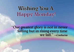 Monday Wishes ,Monday Uplifting quotes, Pictures, Weekday motivational ...