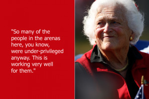 Barbara Bush's quote #1