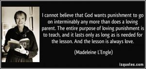God Punishment Quotes