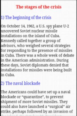 Cuban Missile Crisis - screenshot