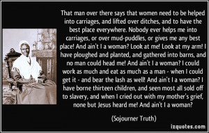 Sojourner Truth Quote