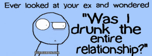 Funny Ex Quote Timeline Cover Picture