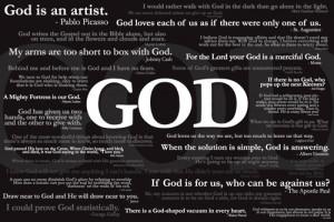 31 Quotes About God Poster - Slingshot Publishing