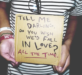 Tell Me Darling Do You Wish We'd Fall In Love! all the time ~ Being ...