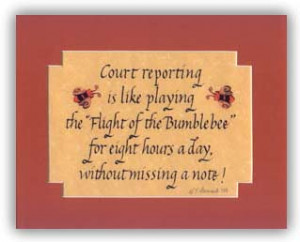 Court Reporting Quote