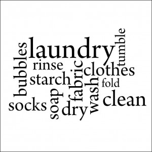 Laundry Word Jumble