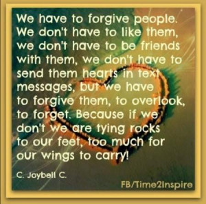 We have to forgive people picture quotes image sayings