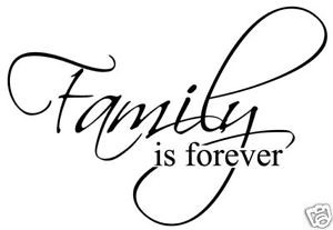 Family-is-forever-Vinyl-Sticker-Decal-wall-quote-decor