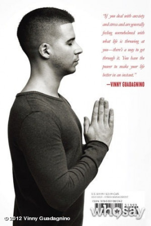 The back cover of Vinny Guadagnino's (