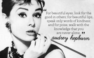Images) 11 Inspiring Audrey Hepburn Picture Quotes