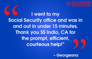 Real people speak about Social Security