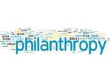 ... philanthropy. You can click on the link above to see a Wordle made