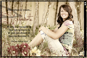 Senior Photos] – with quotes