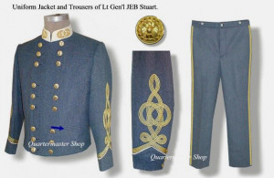 Stuart Army Officer | 1021-Stuart Our General James Ewell Brown ...