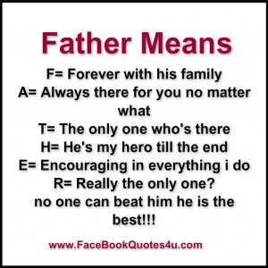 Proud Single Father Quotes Father means