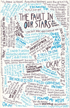 john green the fault in our stars tfios augustus waters quote-happy?
