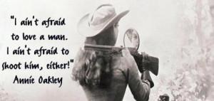Annie Oakley, born in 1860 as Phoebe Ann Moses, was an American ...