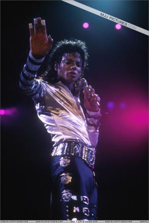 Michael Jackson MJ (BAD WORLD TOUR)