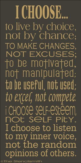 Fuelism #613: Fuelisms : I choose to live by choice, not by chance; to ...