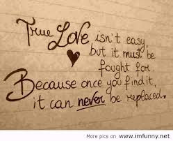 First love never dies but true love - Best quotes about love