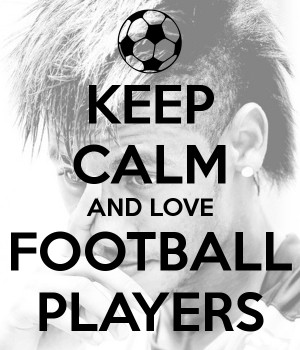 Love Football Players And love football players