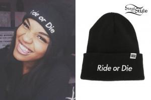 China McClain: 'Ride or Die' Beanie
