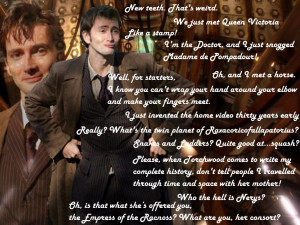 10th Doctor Wallpaper Quotes 10th doctor wallpaper by faesissa