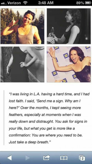 Lana Parrilla - lovely quote