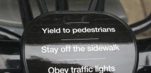 BIkeshare Traffic Rules Reminder