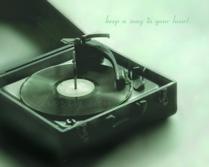 Keep a Song in Your Heart - Mint - Vintage Vinyl Record Player ...