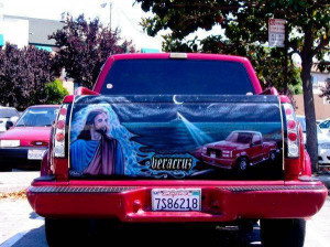 Mexican Tailgate Airbrushed Murals