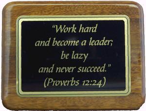 Proverbs 12:24