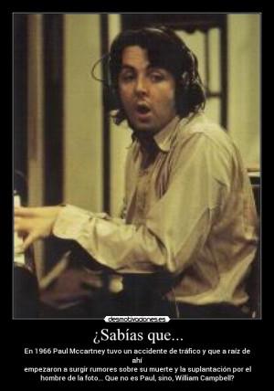 William Campbell Paul McCartney