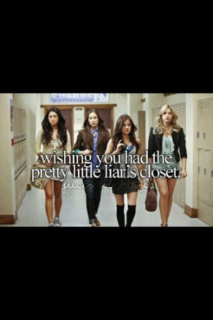 justgirlythings #girl #teenquotes #pll #pretty #little #liars