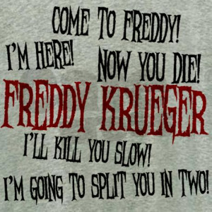 Freddy Krueger Quotes Women