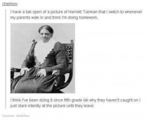 harriet tubman to the rescue