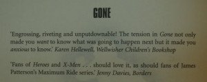 News: I'm Quoted in Gone! OMG!