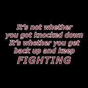 Get Up and Fight Back Quotes