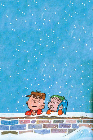 charliebrown #linus #winter