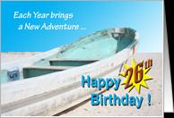 26th Birthday Cards