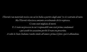 Nell' incipit del videoclip, alcune frasi che spiegano a tutti ...